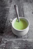 crème van broccoli foto