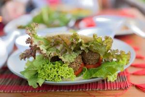 vegetarische sandwich foto