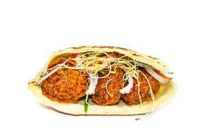 falafel in pita foto
