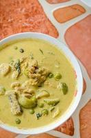 groene kip curry foto