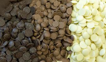chocoladeschilfers foto