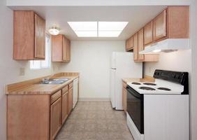 eenvoudige keuken foto
