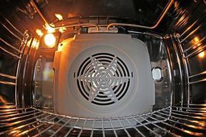 binnen oven foto