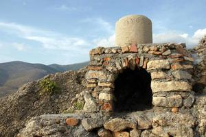 Griekse houtoven. foto