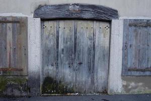 bugey, typische architectuur. foto