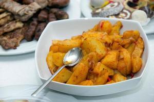 gebakken aardappelen foto
