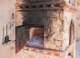 binnenlandse oven foto