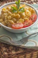 schelp macaroni en kaas foto