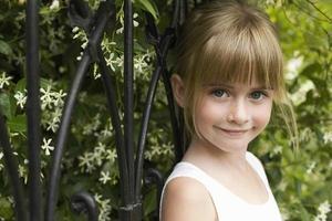 jong meisje foto