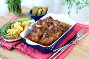 gebakken varkensvlees