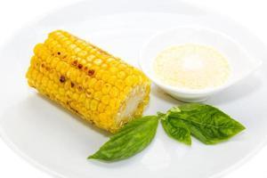 gebakken maïs foto