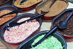 snoep menu foto
