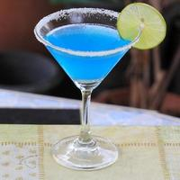 blauwe margarita foto