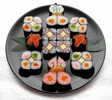 heerlijke sushi-foto's foto