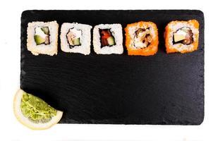 heerlijke sushi foto
