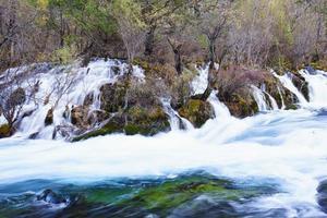 waterstroom, landschap, stromend water