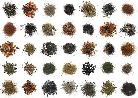 verschillende theesoorten foto