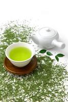 jananese groene thee foto