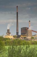 Polen, Zabrze, Biskupice cokesfabriek foto