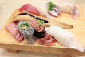 garnalen sushi foto
