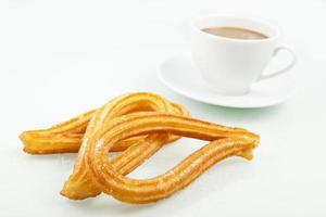 churros & koffie foto