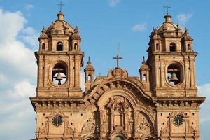 Iglesia de la Compania in Cusco foto