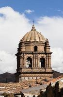 kerk klokkentoren cusco peru Zuid-Amerika foto