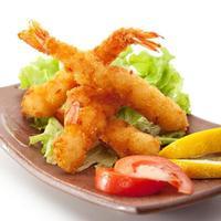tempura garnalen foto