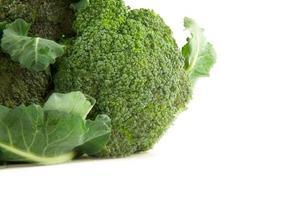 close-up van broccoli foto