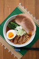 Japanse keuken, ramen foto
