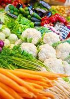 Groentenmarkt foto