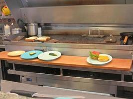 commerciële keuken foto