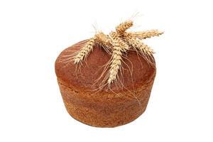 geïsoleerd brood foto