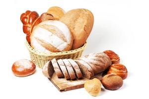 diverse soorten brood foto