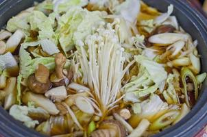 sukiyaki Japans eten foto