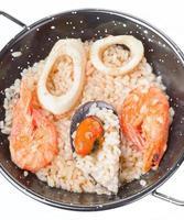 zelfgemaakte paella