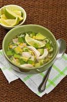 kip avocado soep foto
