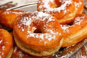 donuts maken foto
