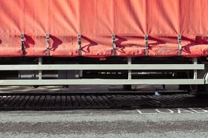 vrachtwagenhoes foto