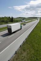 kleinere bestelwagen, vrachtwagen foto
