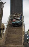 waar auto's dood gaan foto