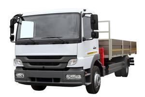 auto voor transport van goederen. foto