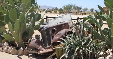oude vrachtwagen foto