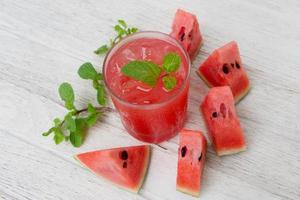 watermeloen smoothie foto