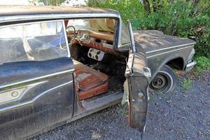 de oude auto foto