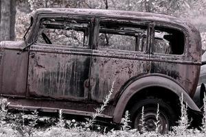klassieke vroege doorwaadbare auto foto