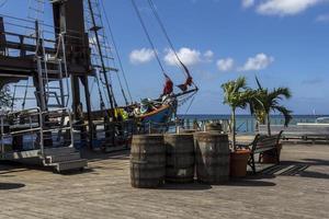 commercieel piratenschip foto