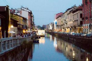navigli in Milaan foto