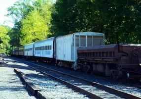 inactieve trein foto