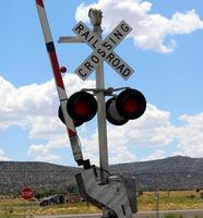 spoorweg signaal foto
